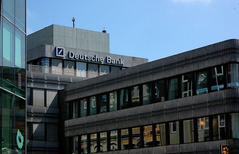 Zagraniczni inwestorzy łakomym okiem mogą patrzeć m.in. na Deutsche Bank