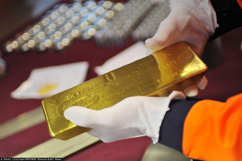 Cena złota idzie w górę.