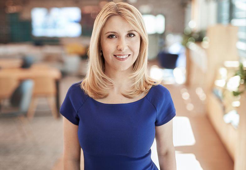 Katarzyna Cymerman, dyrektor ds. HR w polskim oddziale Microsoft