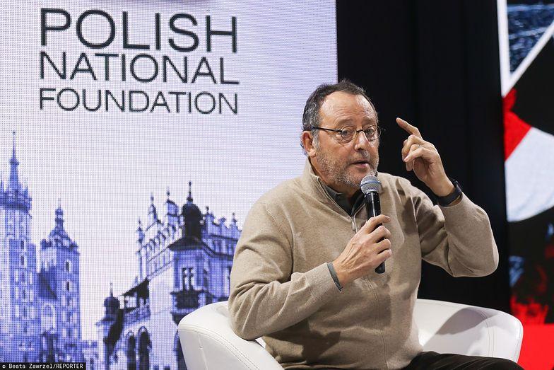 """Francuski aktor Jean Reno odwiedził Polskę w grudniu 2018. Był gościem projektu """"100x100"""" PFN."""