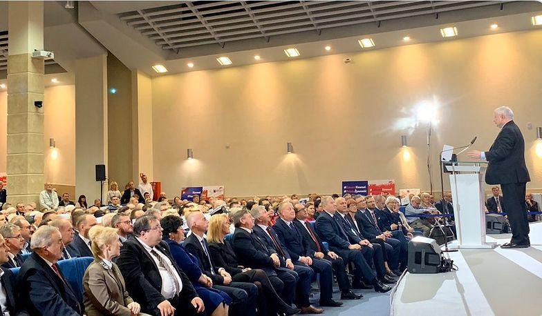 Podjęliśmy wielki wysiłek i będziemy go kontynuować - deklarował Jarosław Kaczyński