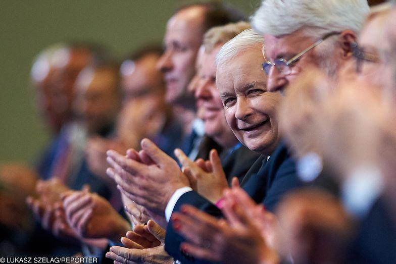 Kaczyński Gdyby wybory do Sejmu odbyły się w czerwcu, PiS, wraz z partiami koalicyjnymi - Solidarną Polską i Porozumieniem, mogłoby liczyć na poparcie 34-proc
