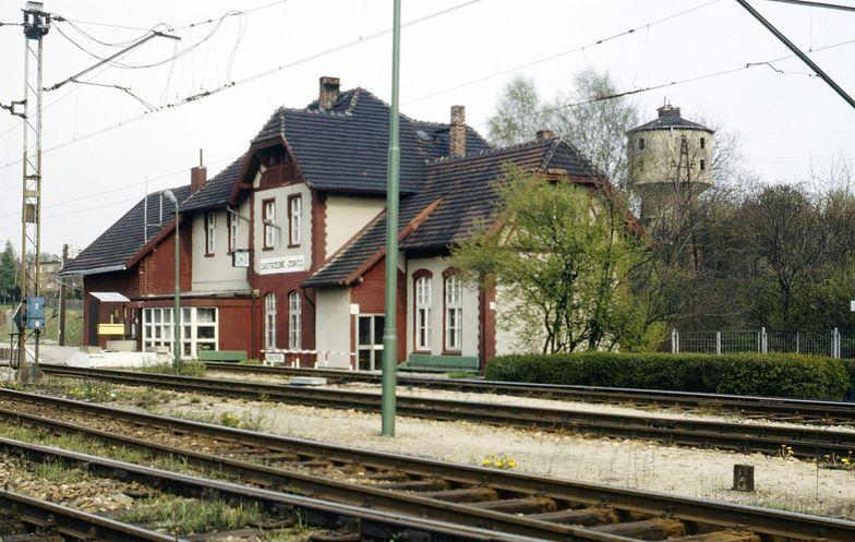 PKP. Dworzec Jastrzębie-Zdrój (zdjęcie ilustracyjne)