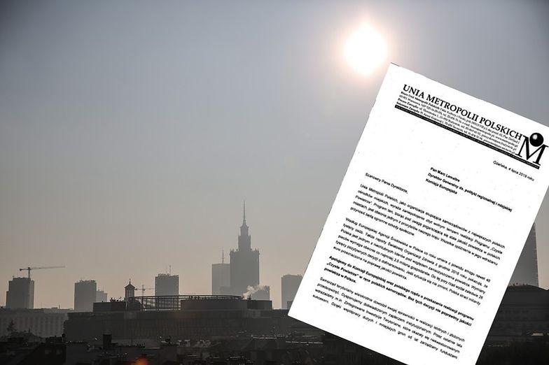 Unia Metropolii Polskich napisała list do KE.
