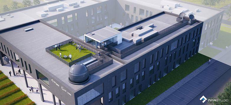W nowym budynku, oprócz tradycyjnych pomieszczeń biurowych, mają się znaleźć laboratoria i pomieszczenia o kontrolowanych warunkach środowiskowych.