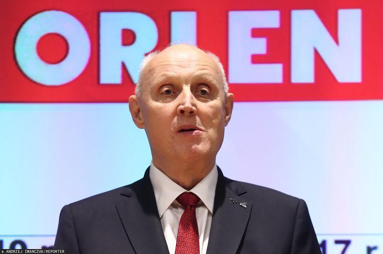 Wojciech Jasiński był prezesem Orlenu, a teraz pokieruje radą nadzorczą spółki.