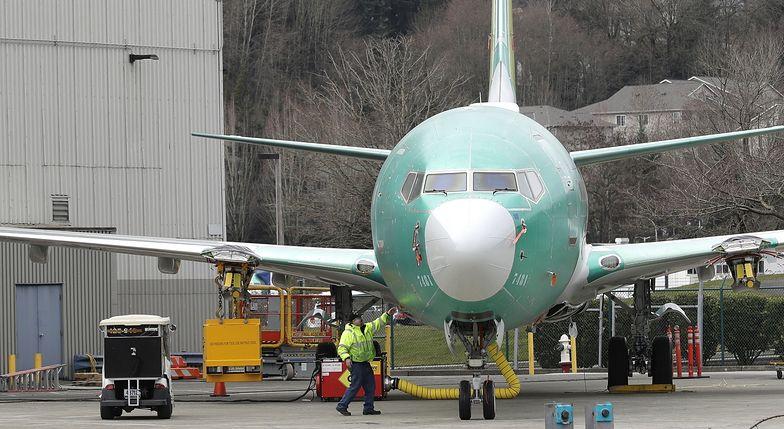 Boeing wymienia oprogramowanie samolotów serii 737 MAX