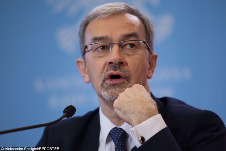 Jerzy Kwieciński stoi na czele Ministerstwa Finansów.