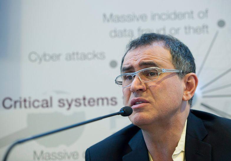 Nouriel Roubini przepowiada kolejny krach na giełdach.