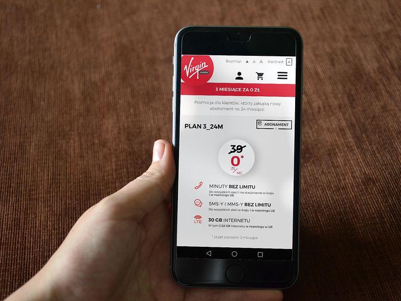 Awaria dotknęła zdecydowaną większość klientów Virgin Mobile.