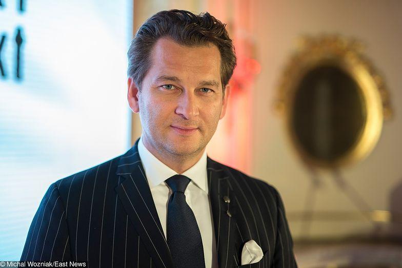 Michał Lisiecki jest szefem dużej spółki medialnej i wydawcą dwóch znanych tygodników