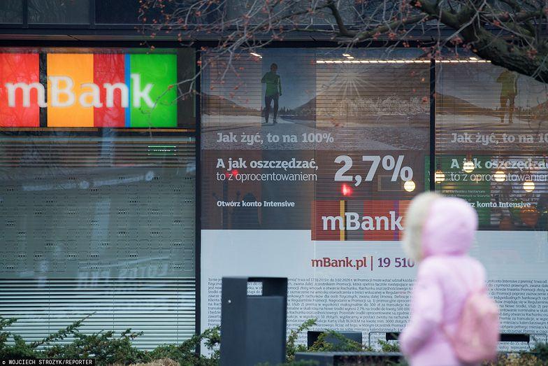 mBank skarży się na Polskę w Europejskim Trybunale Praw Człowieka