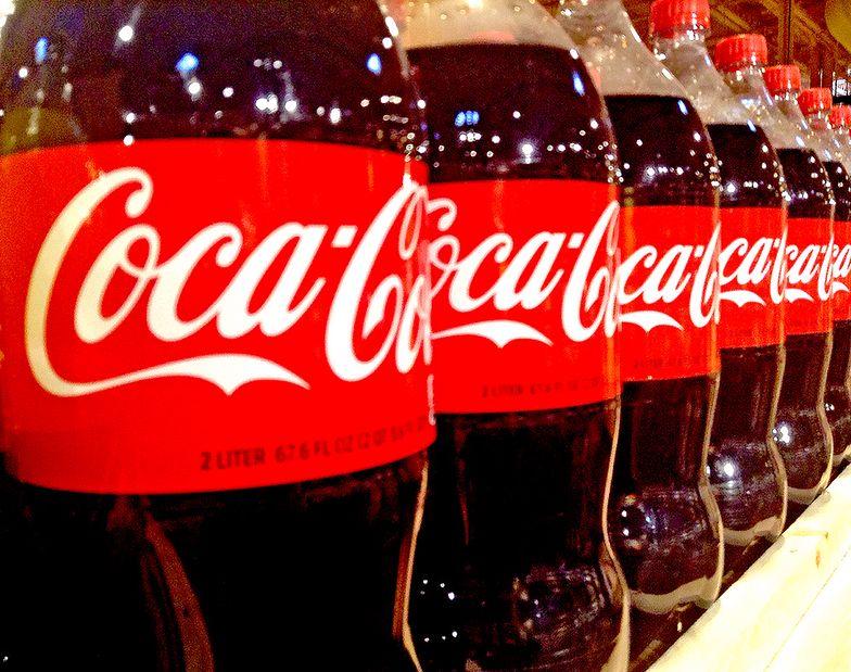 Sprzedaż napojów Coca-Coli bije rekordy
