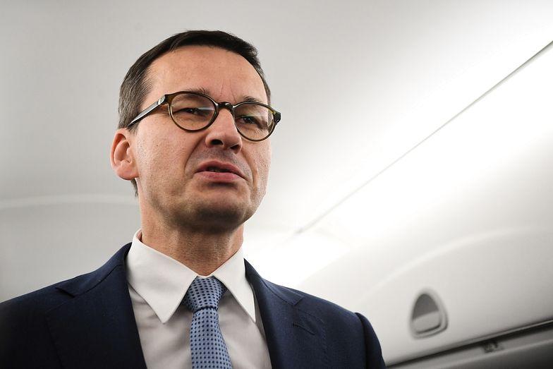 Polska ma zastrzeżenia do unijnej umowy. Chodzi o rolników. Na zdj. premier Mateusz Morawiecki