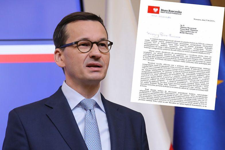 Adam Abramowicz pisze do premiera. Chce szybkiej likwidacji ryczałtowego ZUS.