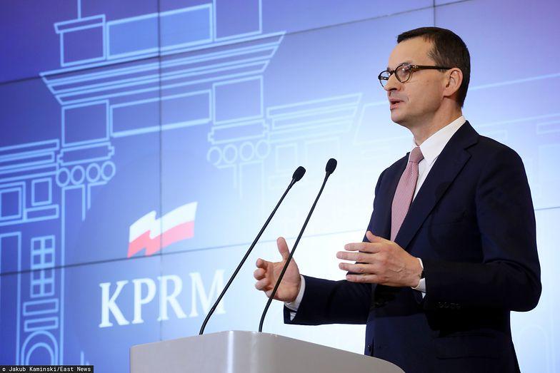 Premier Morawiecki przedstawił dziś propozycję rządu na łagodzenie skutków kryzysu