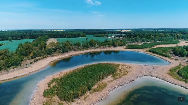 Tak dziś wygląda jezioro Wilczyńskie.
