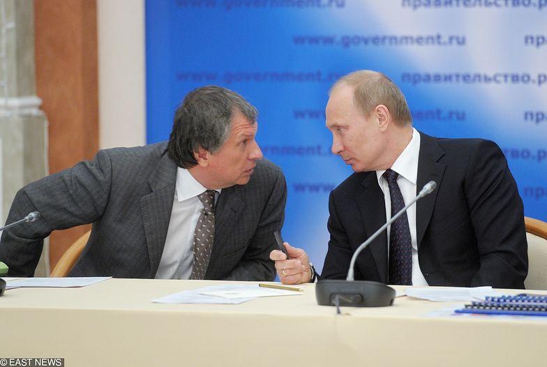 Szef Rosnieftu Igor Sieczyn jest jednym z najbliższych współpracowników prezydenta Władimira Putina