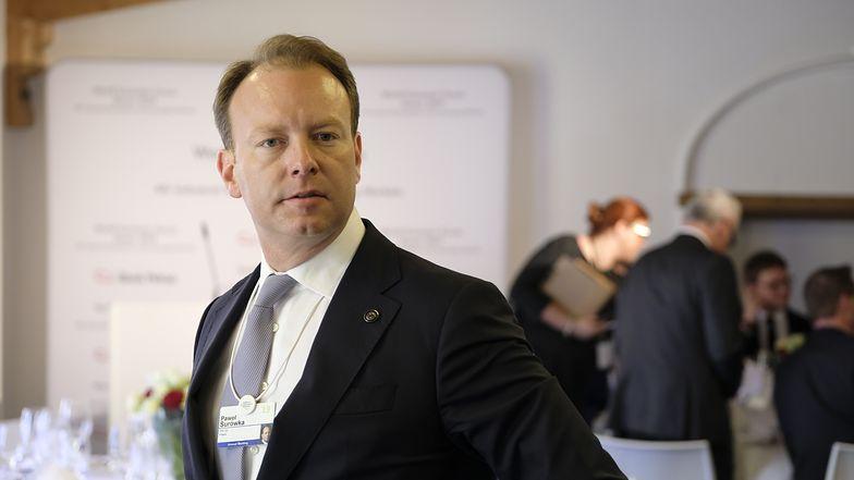 Paweł Surówka, prezes PZU. Spółka wraz z Pekao zorganizowała w Davos Dom Polski