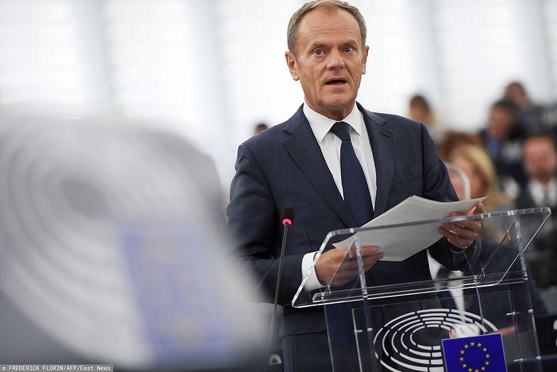 Tusk zwrócił się z apelem do Brytyjczyków. Opowiada się za powstrzymaniem brexitu