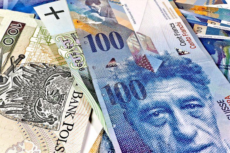 Szwajcarski bank może interweniować w sprawie franka.