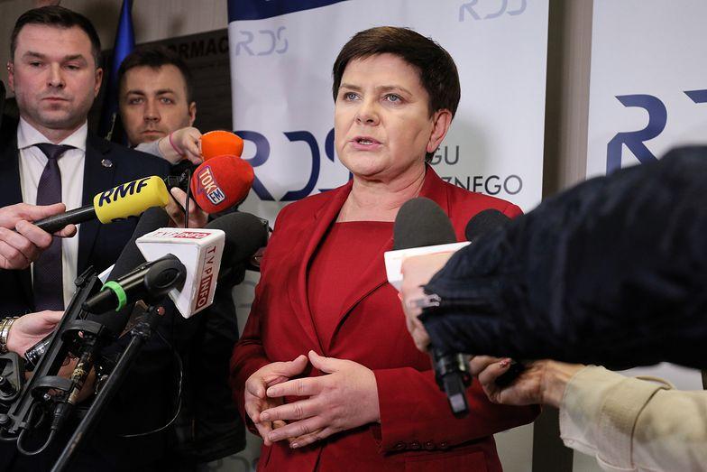 Beata Szydło poinformowała, że dwie centrale związkowe odrzuciły propozycje rządu.