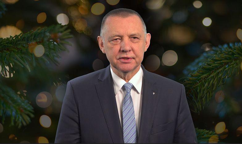 Marian Banaś składa Polakom świąteczne życzenia
