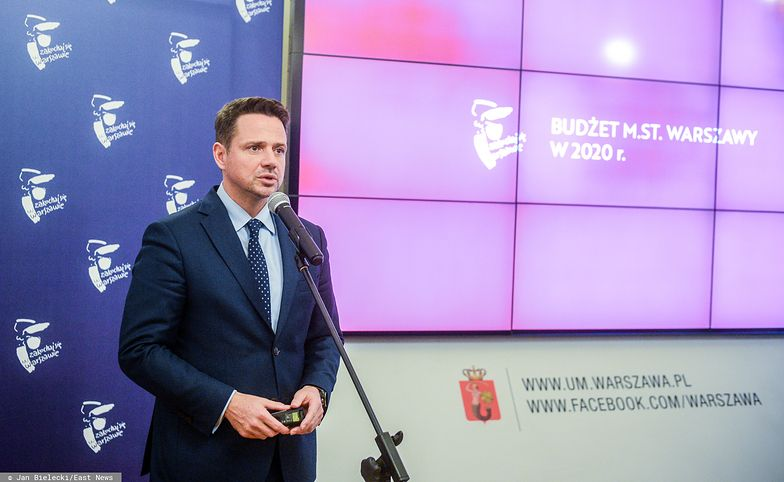 Rafał Trzaskowski opowiedział na konferencji prasowej, w jaki sposób ratusz będzie ograniczał wydatki
