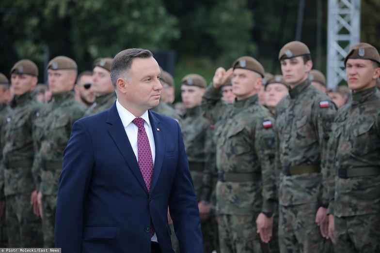 Prezydent zapowiada podwyżki dla żołnierzy zawodowych. Średnio o 576 zł