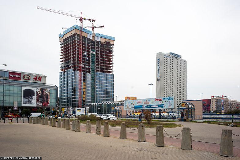 Warszawa jest swoistym placem budowy. W stolicy powstają 44 biurowce.