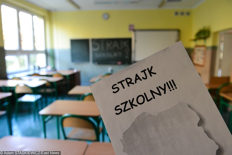 Strajk nauczycieli może potrwać nawet do wakacji. To by oznaczało stratę nawet miliarda złotych w PKB