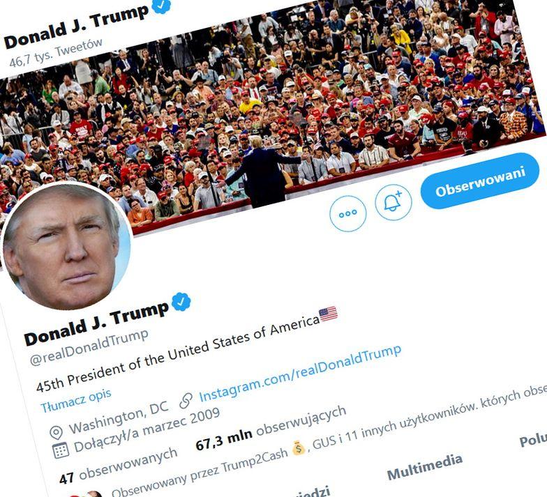 Twitter prezydenta USA to obecnie najważniejsze źródło wiadomości dla gospodarki światowej