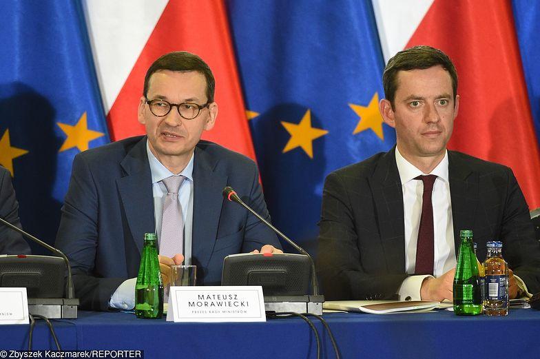 Mateusz Morawiecki oraz Marcin Ociepa