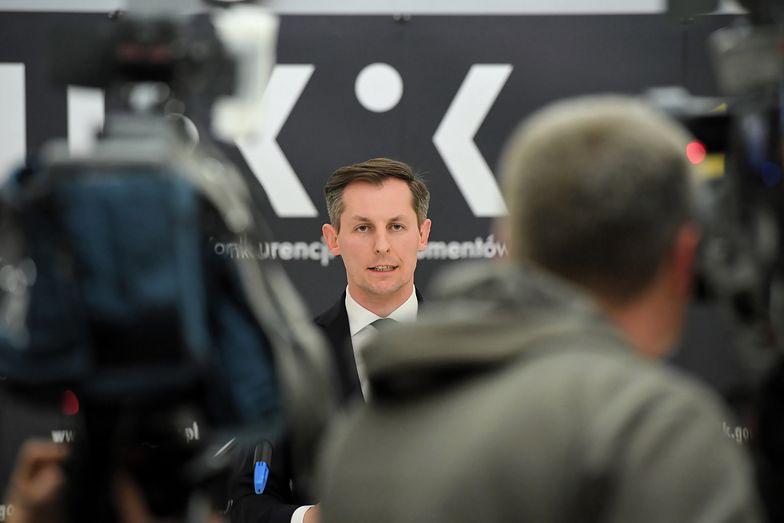 O wszczęciu postępowania wobec dwóch hurtowni poinformował prezes UOKiK Tomasz Chróstny (na zdjęciu).