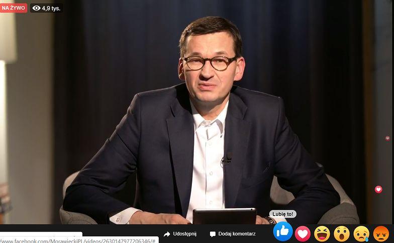 Premier Mateusz Morawiecki nie wyklucza podwyższenia mandatów.