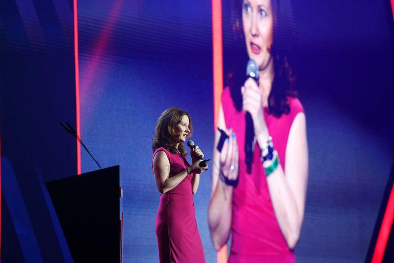 Joanna Bohdanowicz, Regional Sales Director Central Europe z Procter & Gamble podczas wystąpienia otwierającego finał 4 edycji konkursu ABSL Start Up Challenge, mówiła o roli nowych technologii w branży FMCG.