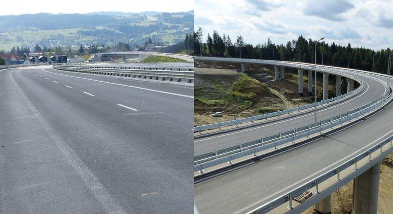 Ostatnie prace na Zakopiance, kierowcy niedługo pojadą nową trasą