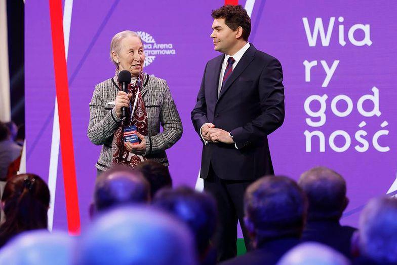 Marianna Górska kompletnie zaskoczyła prowadzących konwencję.