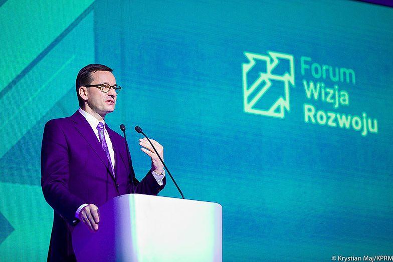 Mateusz Morawiecki podczas Forum Wizja Rozwoju w Gdyni
