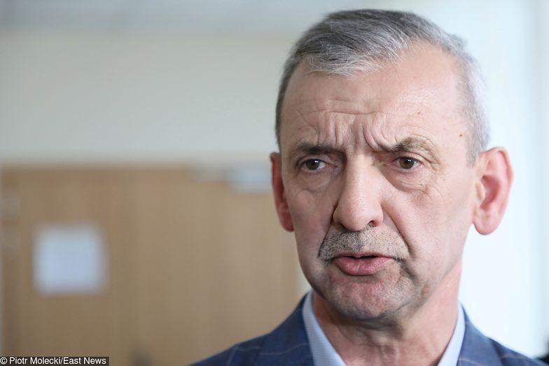 Przewodniczący ZNP Sławomir Broniarz.