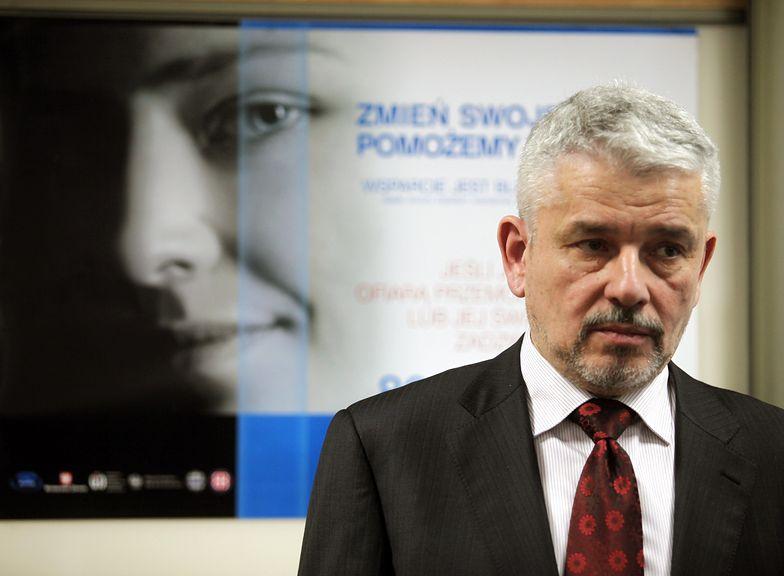 Były dyrektor Państwowej Agencji Rozwiązywania Problemów Alkoholowych Krzysztof Brzózka.