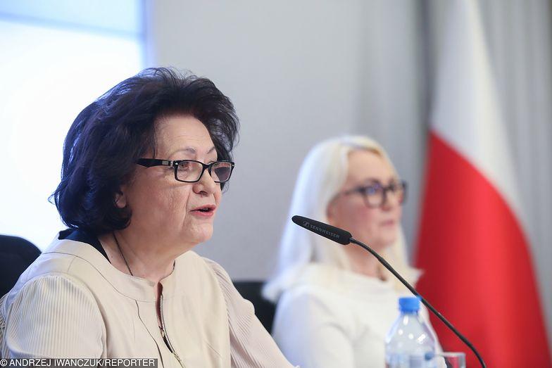 Jak sama Ewa Raczko mówiła podczas konferencji - w Narodowym Banku Polskim pojawiła się blisko 12 lat temu.