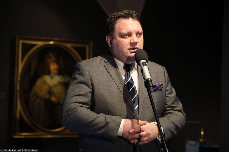 """Prezes KGHM Marcin Chludziński (na zdjęciu) uważa, że spółka ma """"moralny obowiązek"""" wobec społeczeństwa."""