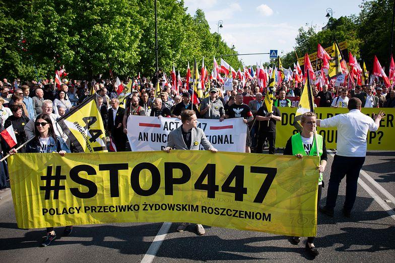 Na ulice w sobotę wyszły środowiska prawicowe