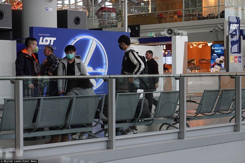 Koronawirus może spowodować gigantyczne straty linii lotniczych.