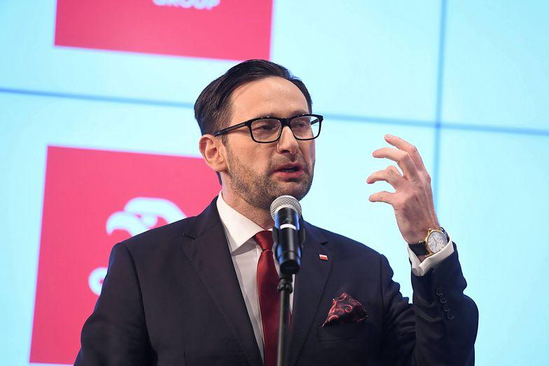 Daniel Obajtek zabrał głos w sprawie decyzji o zawieszeniu finansowania  projektu Ostrołęka C przez spółki Energa i Enea