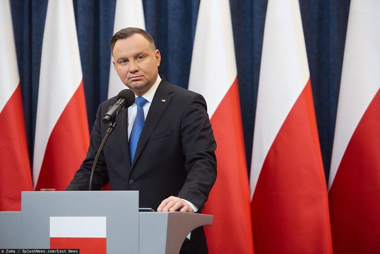 Prezydent Andrzej Duda.