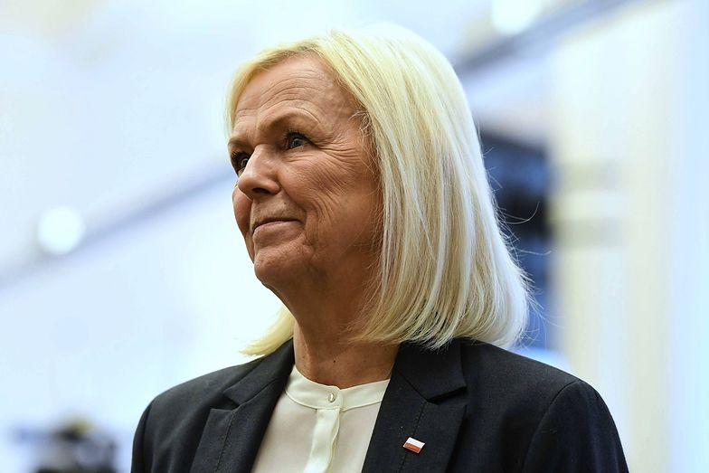 Bożena Borys-Szopa jest w rządzie odpowiedzialna za kwestie związane z rynkiem pracy.