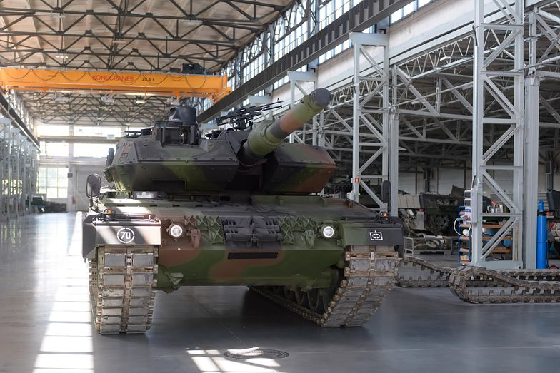 Uroczyste otwarcie Centrum Serwisowo-Logistycznego czołgów Leopard 2 w Poznaniu