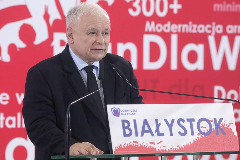 Gerald Birgfellner domaga się od Jarosława Kaczyńskiego (zdj.) zwrotu 50 tys. zł